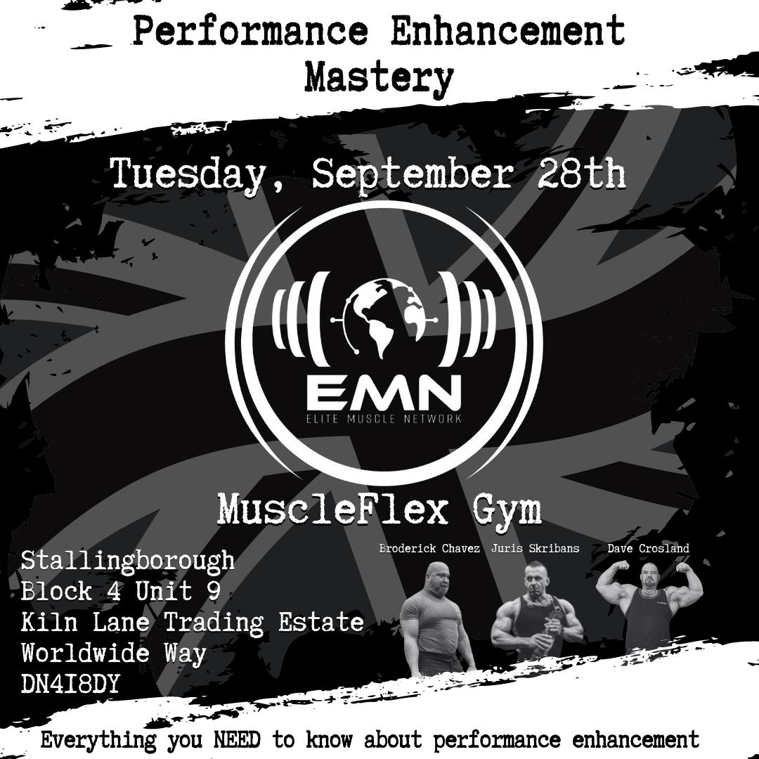 Performance Enhancement Mastery MuscleFlex Gym