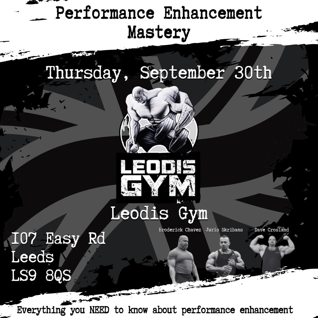 Performance Enhancement Mastery Leodis Gym